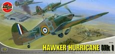 1:48 Military Aircraft Hawker Hurricane Mk1