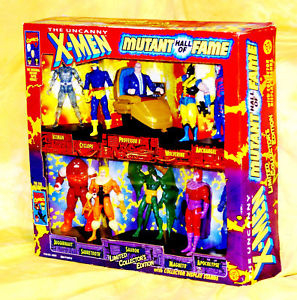 "X-MEN ""Mutant Hall of Fame"" Collector's Edition Action Figures"