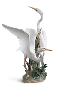 Lladro #1319 Heron (Rare/Retired)