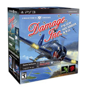 PS3 Damage Inc Pacific Squadrom WW2 w/Controller