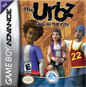 The Urbz-Sims in the City Gameboy Advance Game
