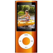 Ipod Nano 5th Gen Orange 16GB-MC072LL