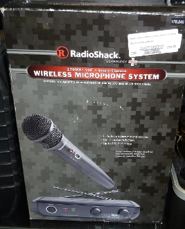 Radio Shack Wireless Microphone System