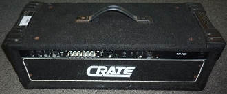 Crate Bass Head Amp-BX-200H