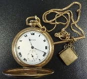 New York Co Pocket Watch