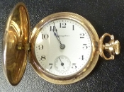 Vintage Hampden Molly Stark Pocket Watch