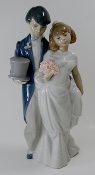 "Lladro- ""Wedding Bells"" Figurine"