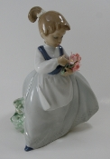 "Lladro-""My Bouquet"" Figurine"