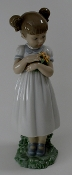 "Lladro- ""Flowers for Mommy"" Figurine"