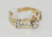 Women's 14K Yellow Gold Diamond Ring