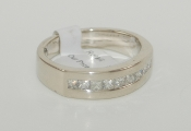 Men's 14K White Gold Diamond Ring
