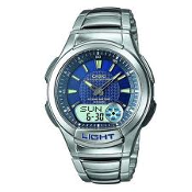 Men's Casio Illuminator Stainless Steel Watch