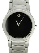 Men's Movado Stainless Steel Watch-84.g2.1851