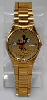 Seiko Mickey Mouse Stainless Steel Watch