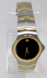 Men's Movado Stainless Steel Watch 81.g1.1895