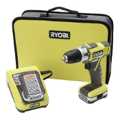 Ryobi 12-Volt Lithium-Ion 3/8 in. Cordless Drill HJP001K