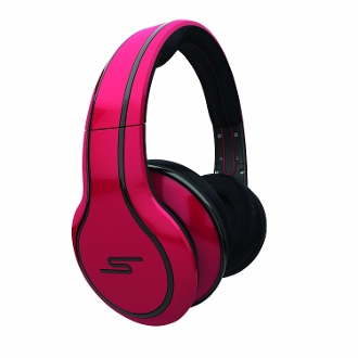 Street by 50 Cent Wired Over-Ear Headphones - Red