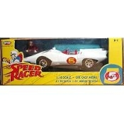 AMERICAN MUSCLE ERTL SPEED RACER MACH 5 DIE-CAST CAR 1:18