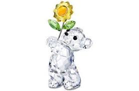"Swarovski #842934 -""Bear w/Flower"""